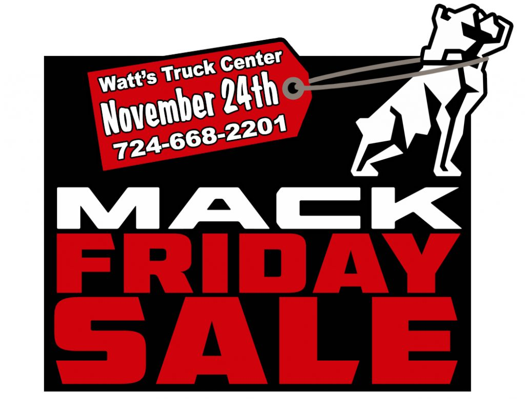 """Mack"" Friday Specials!"